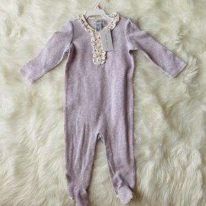 NWT BABY GIRL PAJAMAS BY RALPH LAUREN FOR A 9 MO